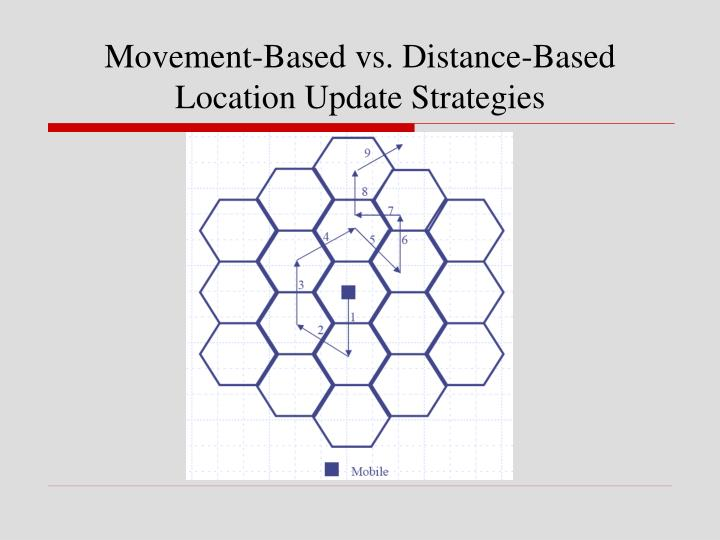 Movement-Based vs. Distance-Based
