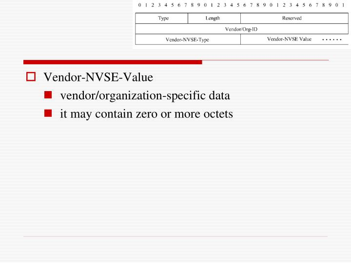 Vendor-NVSE-Value