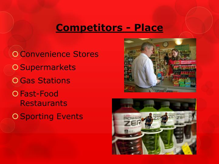 Competitors - Place