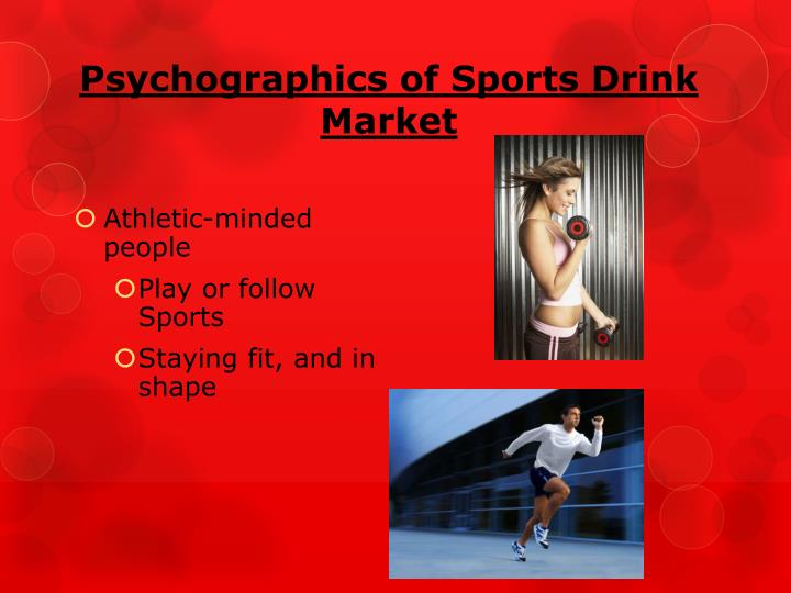 Psychographics of Sports Drink Market