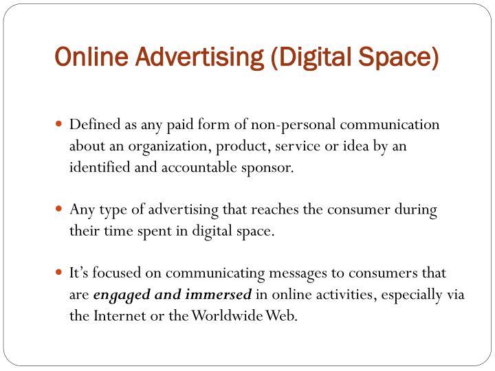 Online Advertising (