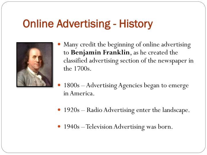 Online Advertising - History