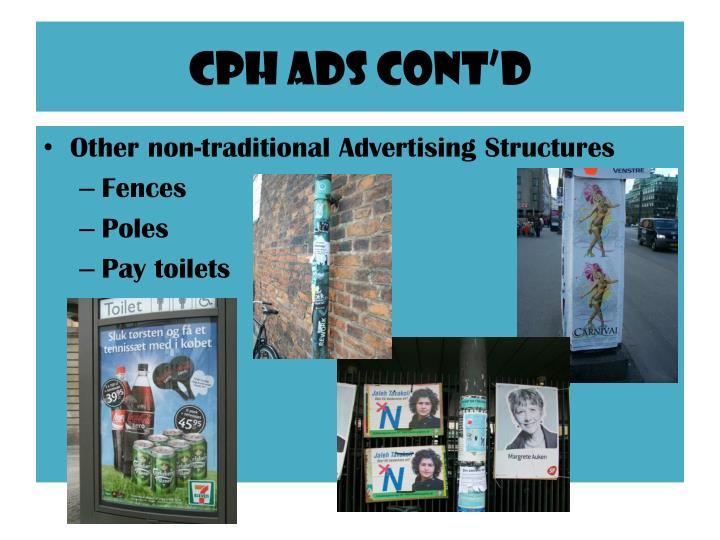 CPh ads cont'd