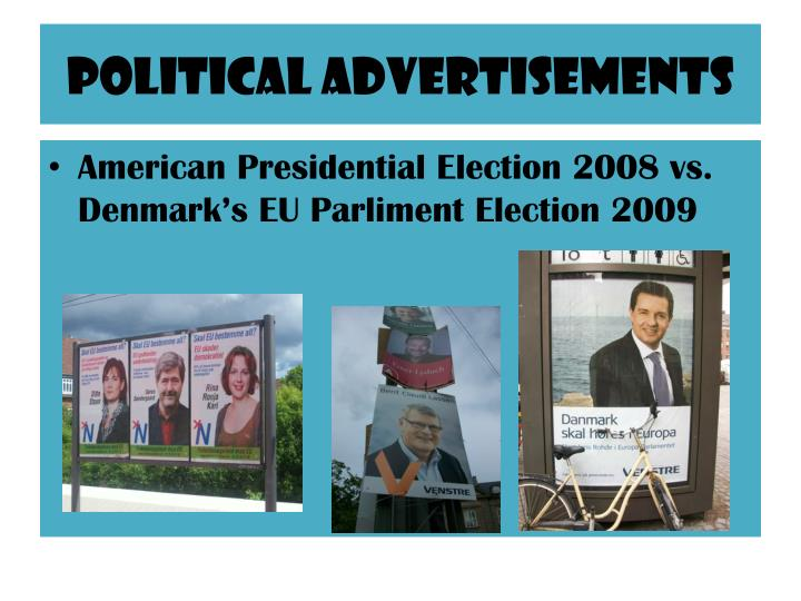 Political Advertisements