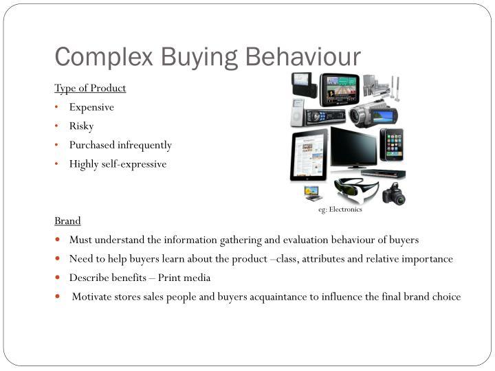 Complex Buying