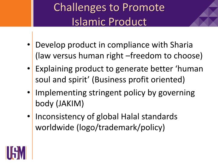Challenges to Promote