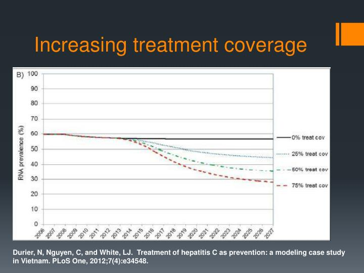 Increasing treatment coverage