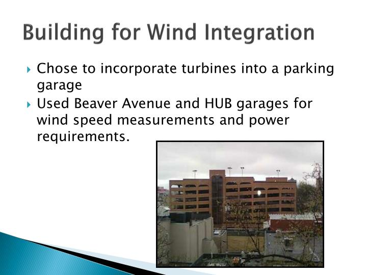 Building for Wind Integration