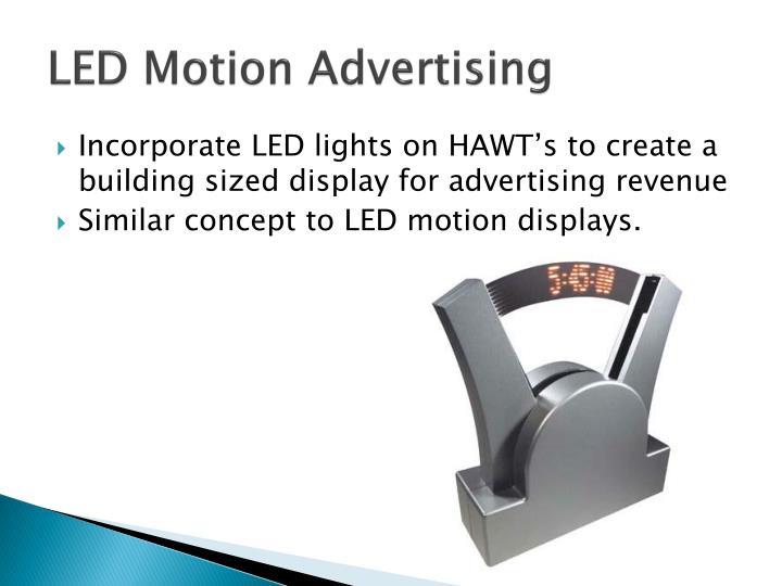 LED Motion Advertising