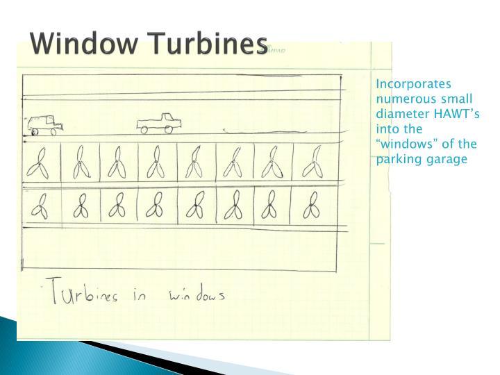 Window Turbines