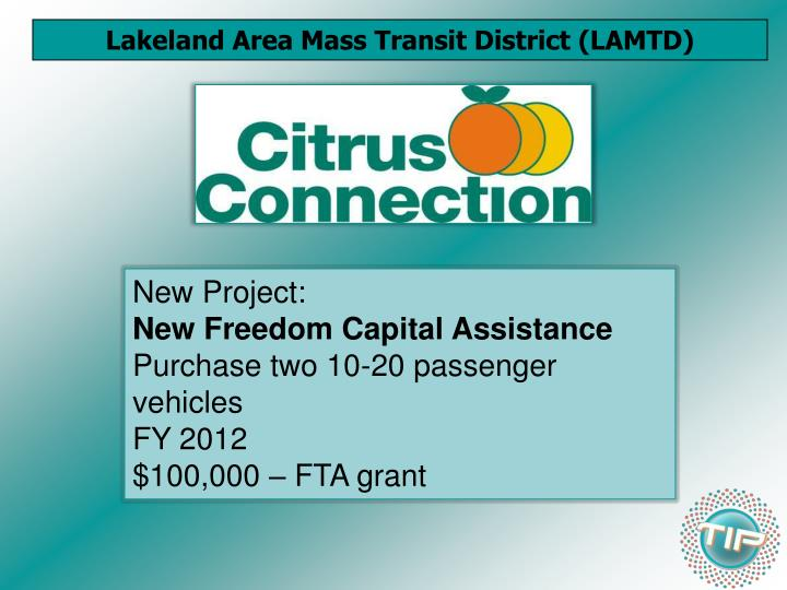 Lakeland Area Mass Transit District (LAMTD)