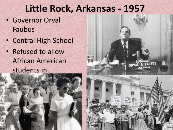 Little Rock, Arkansas - 1957