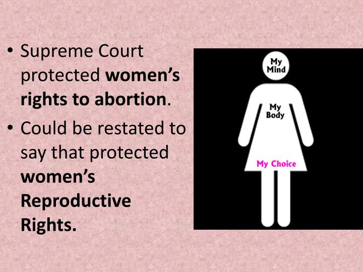 Supreme Court protected