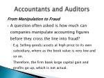 accountants and auditors11