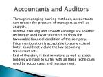 accountants and auditors23