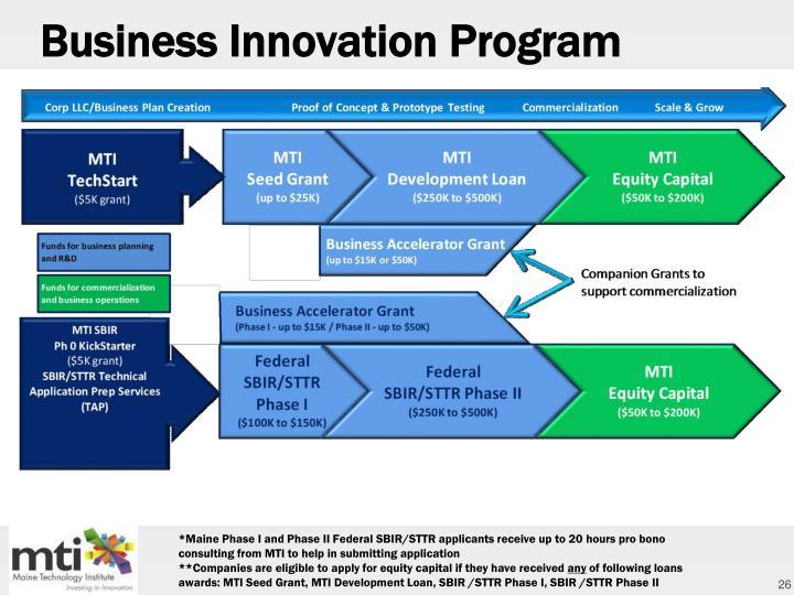 Business Innovation Program