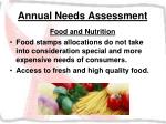 annual needs assessment25