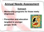 annual needs assessment28