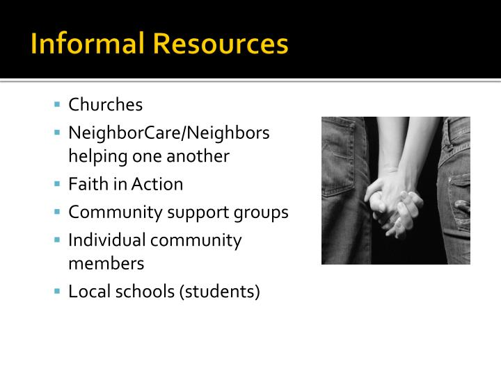 Informal Resources