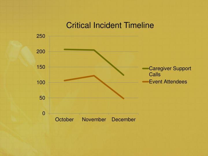Critical Incident Timeline