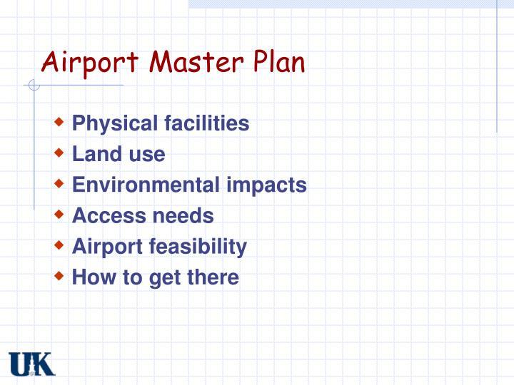 Airport Master Plan