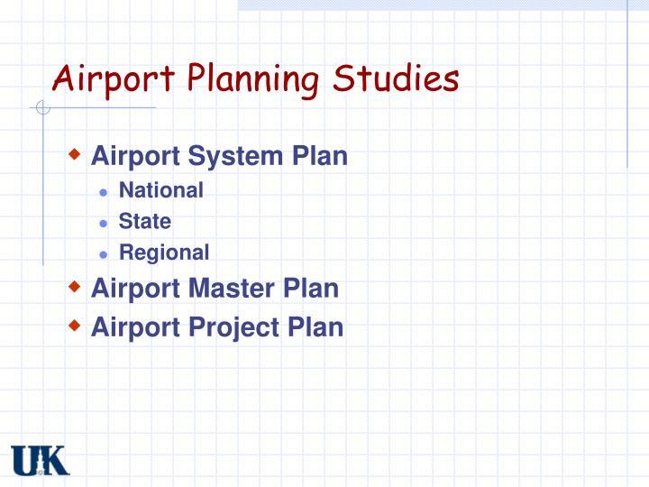Airport Planning Studies