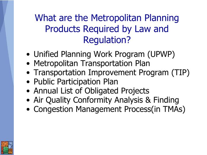 Unified Planning Work Program (UPWP)