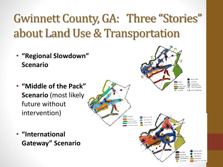 "Gwinnett County, GA:   Three ""Stories"" about Land"