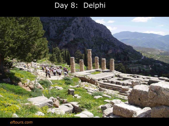 Day 8:  Delphi