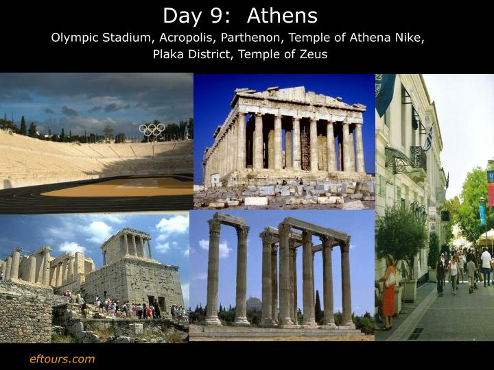 Day 9:  Athens