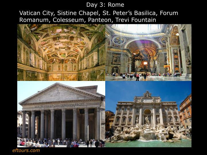 Day 3: Rome
