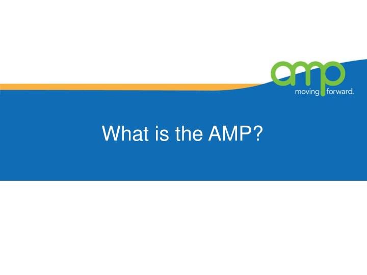 What is the amp