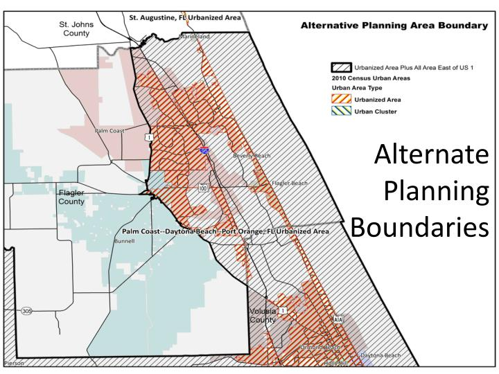 Alternate Planning Boundaries