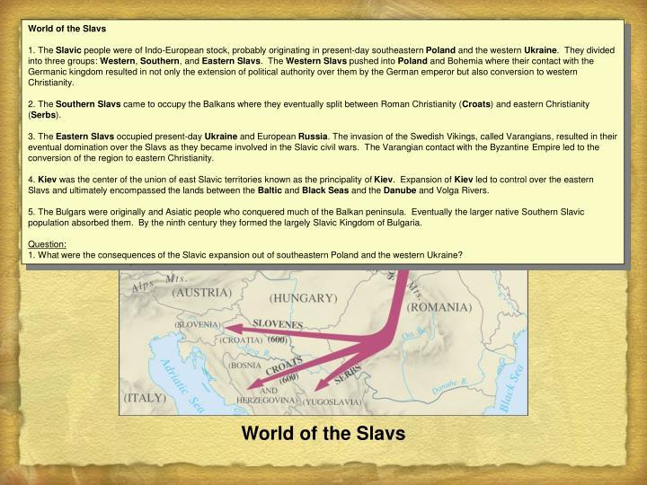 World of the Slavs