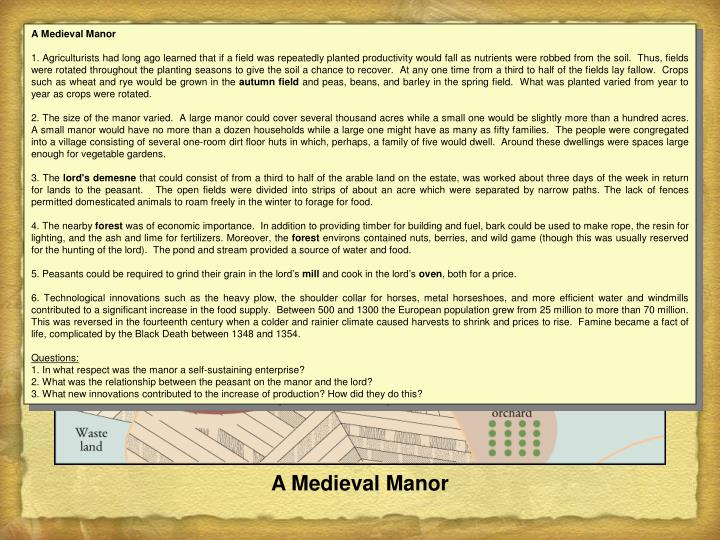 A Medieval Manor