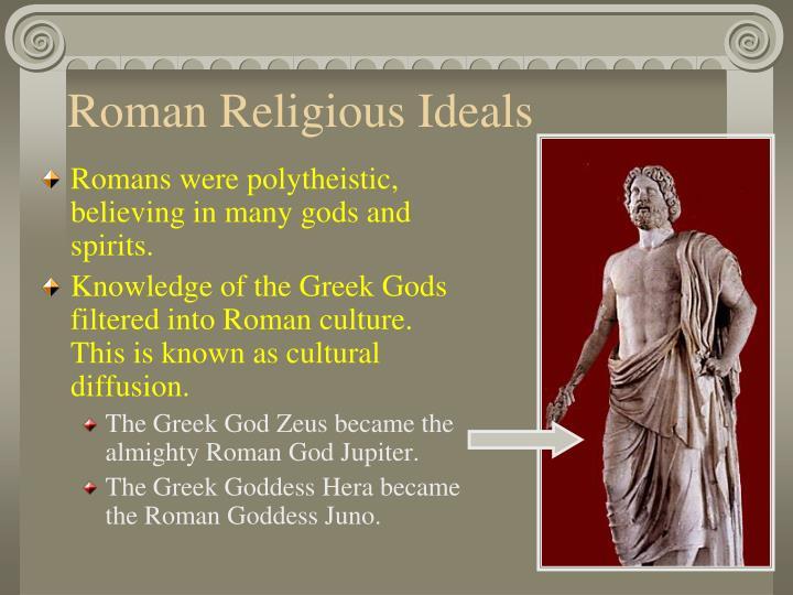 Roman Religious Ideals