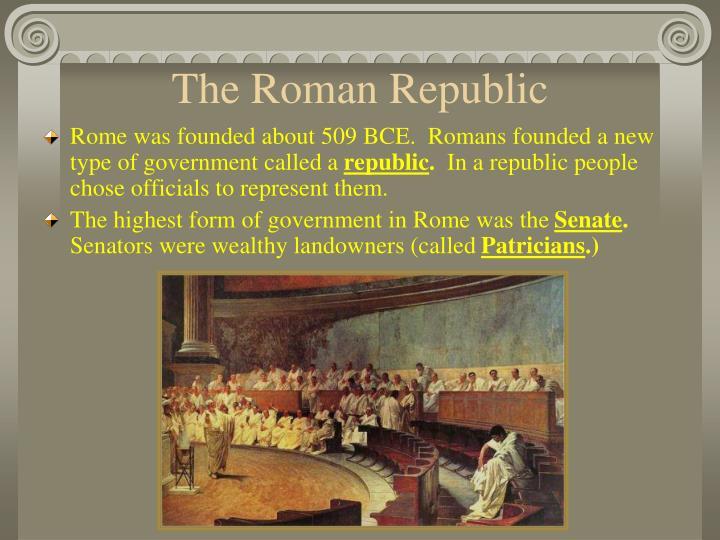The Roman Republic