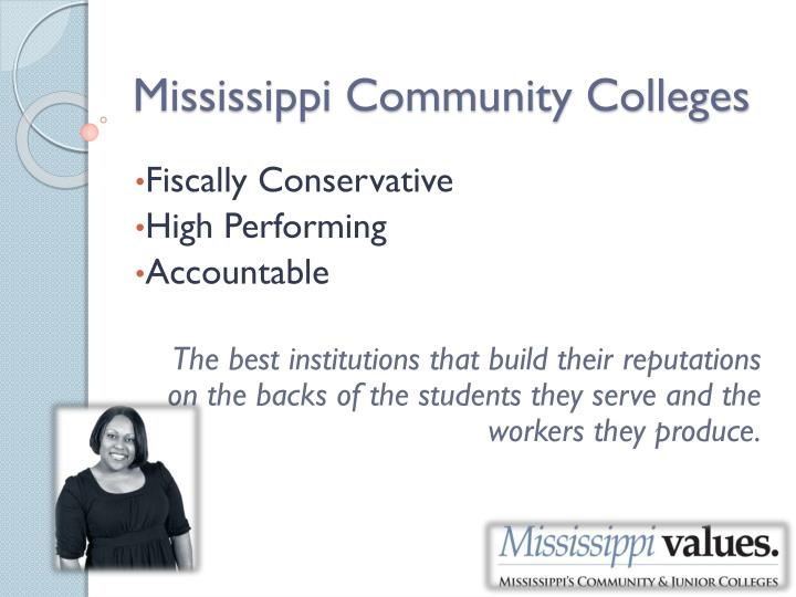 Mississippi Community Colleges