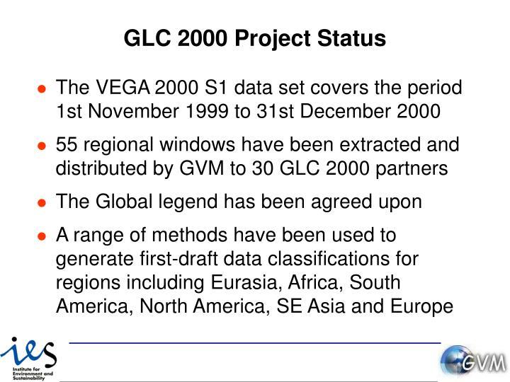 GLC 2000 Project Status