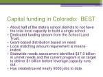 capital funding in colorado best
