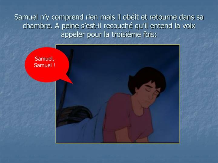 Samuel, Samuel !