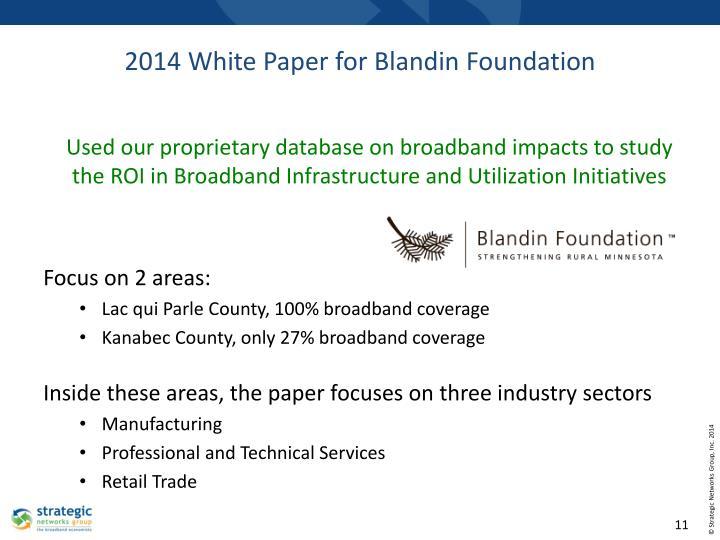 2014 White Paper for