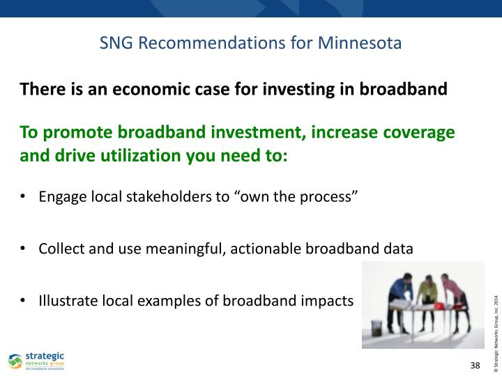 There is an economic case for investing in broadband