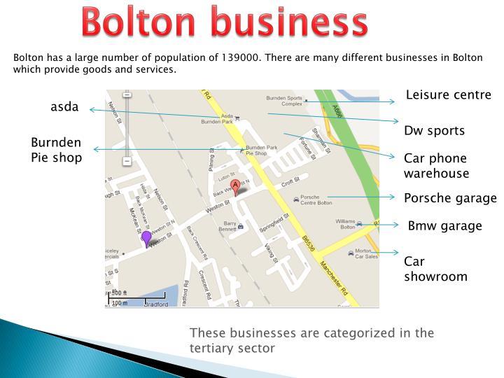 Bolton business
