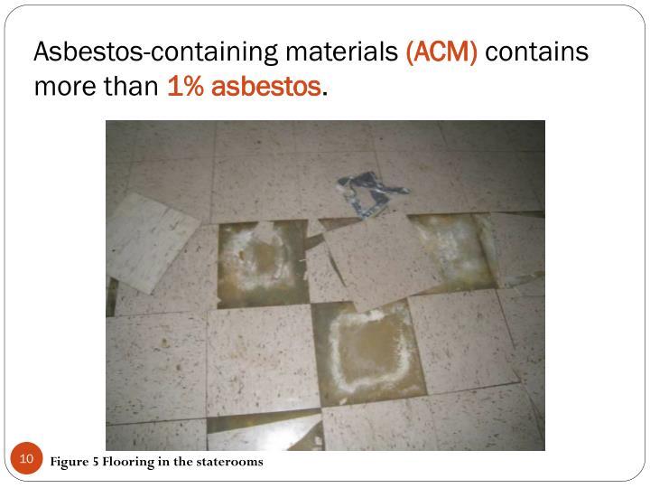 Asbestos-containing materials