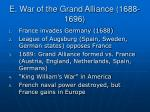 e war of the grand alliance 1688 1696