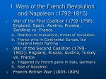 i wars of the french revolution and napoleon 1792 1815
