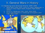 ii general wars in history