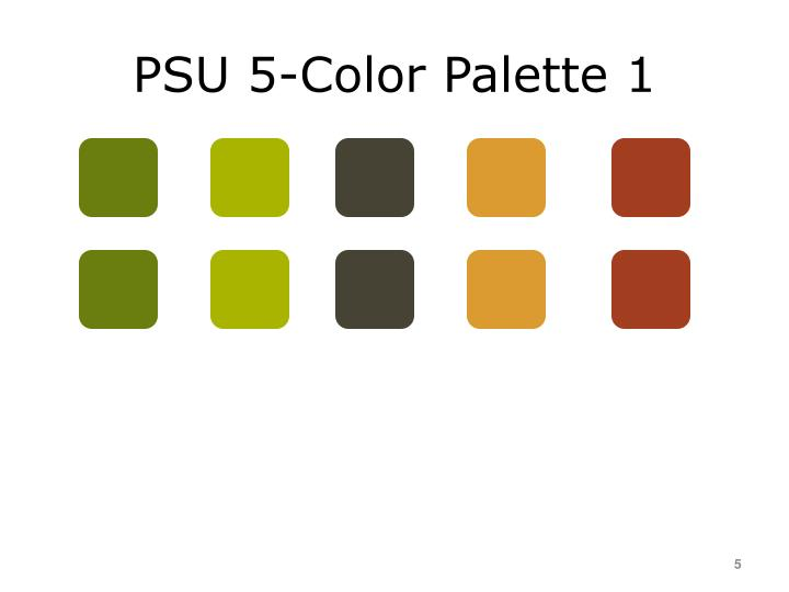 PSU 5-Color