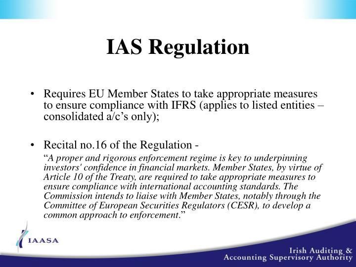 IAS Regulation